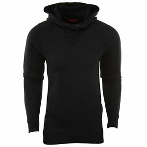 NIke-Air-Jordan-Wings-Pullover-Hoodie-Black-Fleece-860200-010-Men-039-s-NEW