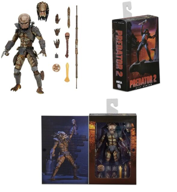 Predator 2 Ultimate City Hunter 17 5cm Action Figure NECA