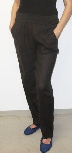 Lin Pantalon 100/% lin aussi comme pantalon de maternité grossesse Portable