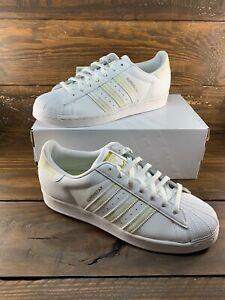 Details about Adidas Originals Superstar [FX9088] Men Casual Shoes White/Black-Gold- NEW