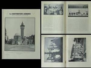 CONSTRUCTION-MODERNE-1931-PAVILLON-TUNISIE-EXPOSITION-COLONIALE-NEUILLY-HIRSCH