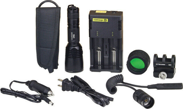 Nitecore Knife New Kit CR6 ROT Flashlight Hunting Kit New CR6 HUNTING KIT 336539