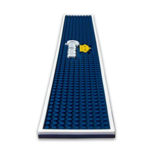 W x H x D Corona Rubber Wetstop Bar Drip Mat Runner 560mm x 90mm x 10mm