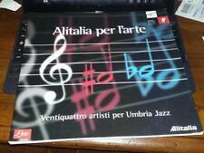 24 artisti a umbria jazz-dorazio-sinisca-accatino-attardi-alitalia per l'arte