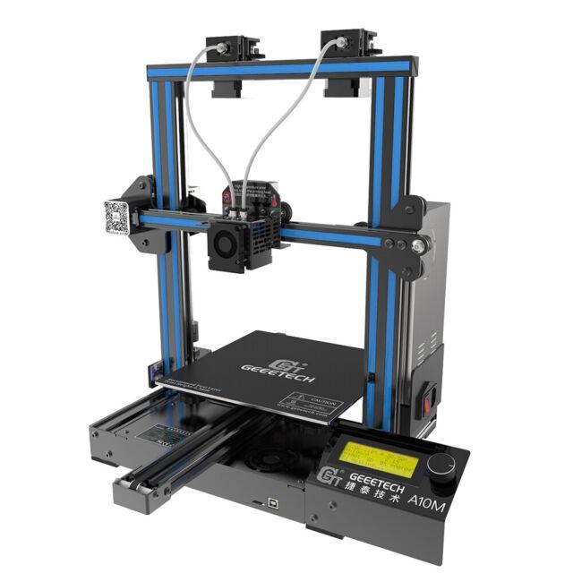 Geeetech 3D Printer A10M MixColor Dual Extruder GT2560 v4