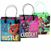 Disney Zootopia Authentic Licensed Small Party Favor Goodie Loot Gift 12 Bags