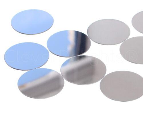 """18 Ga-Brillante Anodizado 100 PK 2/"""" ronda de aluminio estampado espacios en blanco"""