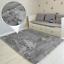 Teppich-Hochflor-100x160-Shaggy-Flokati-Langflor-Fussmatte-Laeufer-Weich-6-Farben Indexbild 23