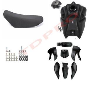 KLX110-Plastic-Fairing-Fender-Kit-Seat-Fuel-Tank-125cc-PIT-Dirt-BigFoot-Bike-DRZ