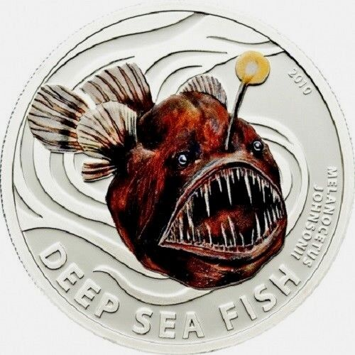 Silver Proof 1//2 Oz Coin QEII Humpback Fish Pitcairn Islands 2 Dollars 2010