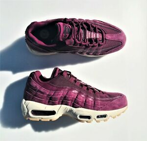 Details about Nike Air Max 95 SE Shoes Bordeaux Desert Sand AJ2018 600 Men's 7.5, Women's 9