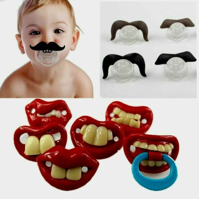 Silicone Baby Orthodontic Pacifier Toddler Nipple Dummy Funny Soother Teether UK