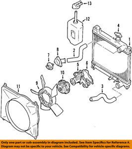 SUZUKI OEM 99-08 Grand Vitara-Engine Water Pump Gasket 0928071003   eBayeBay