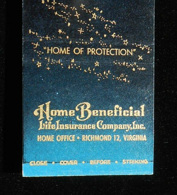 1940s Home Beneficial Life Insurance Company Richmond VA ...