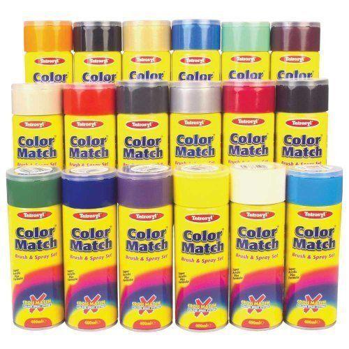 Car Paint Spray Can.Carplan Colour Match Car Aerosol Spray Paint Red 11 400ml Yab180