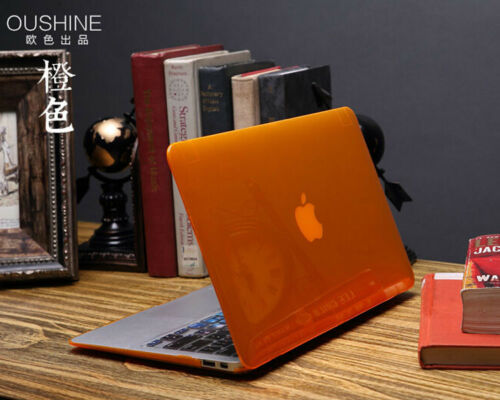 """3in1 Crystal See-through Hard Case Shell for MacBook AIR PRO 11/""""13/"""" 15/""""Touch Bar"""