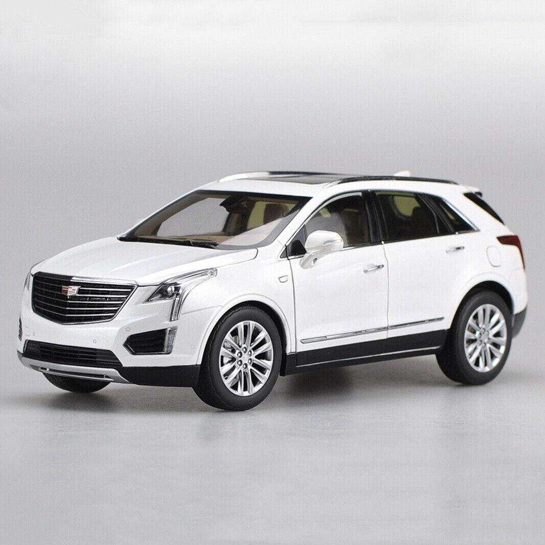 1/18 SCALA CADILLAC XT5 2016 SUV Bianco Collezione Diecast Modello Auto Giocattolo Regalo