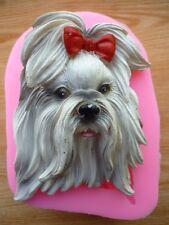 Cartoon Dog Silicone Fondant Mould Chocolate Sugarcraft Mold Ice Baking Tool DIY