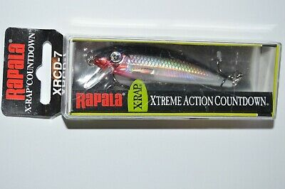 """Details about  /Rapala X-Rap CountDown 07 XRCD07-YP Yellow Perch 2 3//4/"""" 3//8 oz Lure Count Down"""