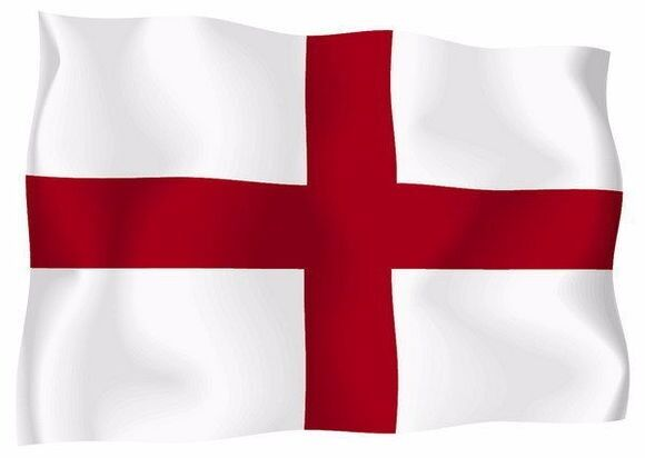 07aba073 Flag of England 3x5 FT St George's Cross Red White English National Banner  Saint for sale online | eBay