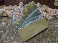 Country Cottage Beautiful Country Blue Floral Meadows Pillowcase -