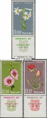 Never Hinged 1963 Flowers A Complete Range Of Specifications complete Issue Unmounted Mint Adaptable Israel 283-285
