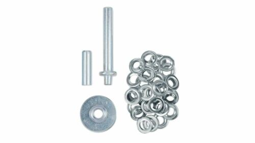 tool 30 pairs of aluminium eyelets Tarpaulin//awning eyelet repair kit 12.5mm