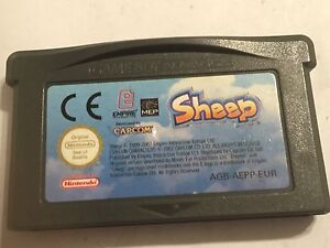 SHEEP-NINTENDO-GAMEBOY-GAME-BOY-ADVANCE-GBA-SP-MICRO-GAME-CARTRIDGE-By-CAPCOM