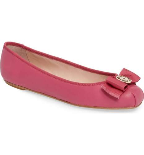 5 9 Kate rose foncé Ballet 8 trop 5 Ny Leather 8 Fontana Spade plate Napa wv8ONn0m