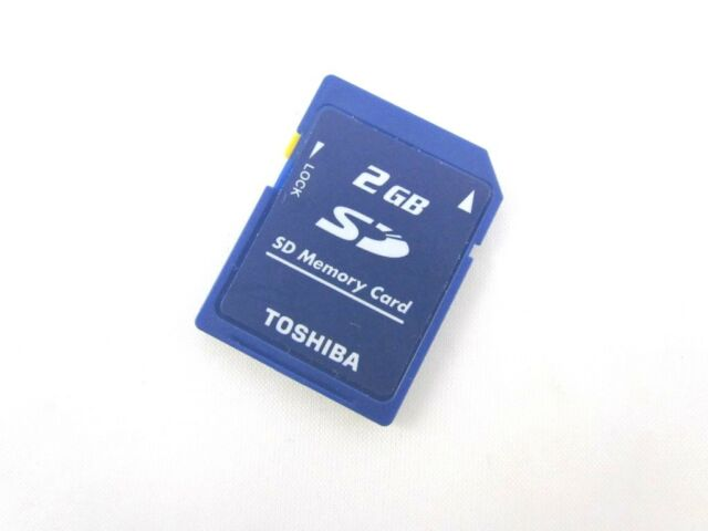 Toshiba 2GB Full SD Secure Digital Memory Card 4 Cameras Nintendo 3DS 2DS WII