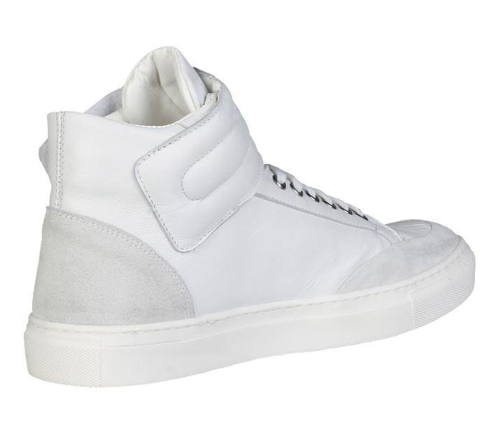 Versace V1969 41 NESTOR weiss Echtleder Hi Top Sneaker Gr 41 V1969 42 43 45 a1c88d