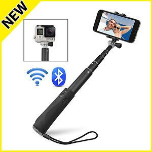 Selfie-Stick-Stange-Stativ-Bluetooth-Teleskop-Fuer-iOS-Android-Handys-Monopod