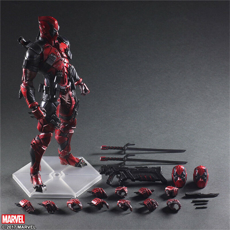 Playarts Deadpool2 Marvel Figurine Variant Action Figure Toy Statue Display Doll