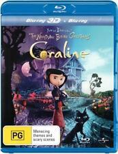 CORALINE : NEW 3D Blu-Ray