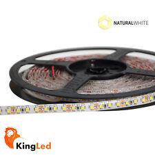 KingLed® Strisce LED 12V 600SMD3528 Luce Naturale 4000K 48W Strip 8mm IP65 0680