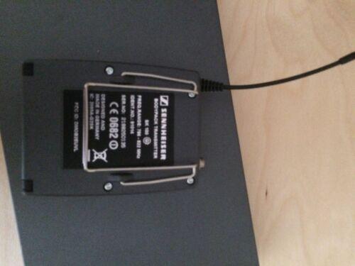 inkl Sennheiser ew100 G2 D-Band Taschensender #D050
