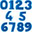 Diapositives-Ballon-Nombre-XXL-rencontrent-101-cm-Ballon-Helium-Ballons-Anniversaire-Deco miniature 1