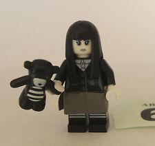 Lego Series 12 Spooky Girl Black & White 71007 Minifigure Figure
