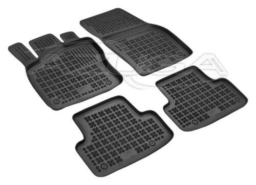 3D Gummi-Fußmatten Gummimatten für Skoda Karoq ab 2017 hohe Automatten mit Rand