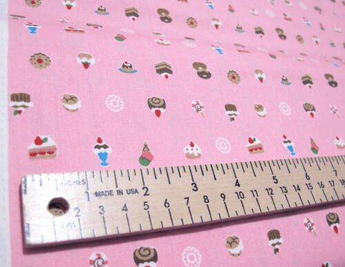 "JAPANESE IMPORT /""SWEETS/"" by the 1//2 yard"