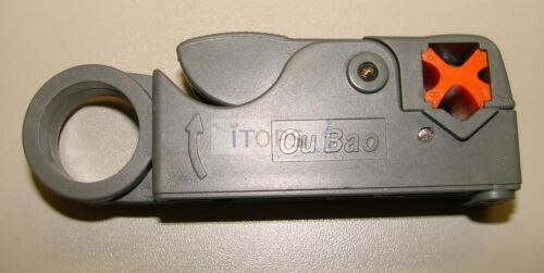 RG58 Abisolierwerkzeug für RG59 RG174 Koaxialkabel Videoüberwachung Kamera NEU