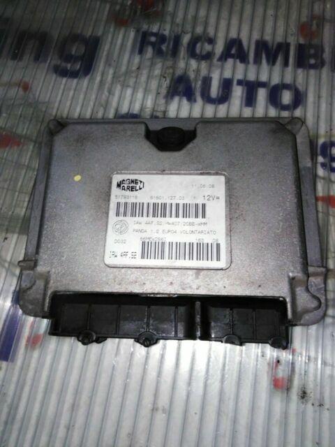 ECU Motor ECU Fiat PANDA169 1.2 EU4 09-51793116