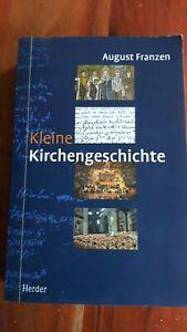 Kleine Kirchengeschichte. August Franzen, 2000, ungelesen