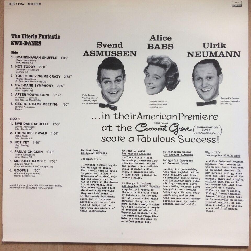 LP, The Utterly Fantastic Swe-Danes, Scandinavian