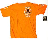 Archaic By Affliction Orange Xl Shirt X-large