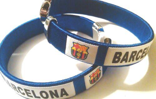 NEW FC Barcelona 2018 Soccer Football Team Wristband Wristlet Bracelet