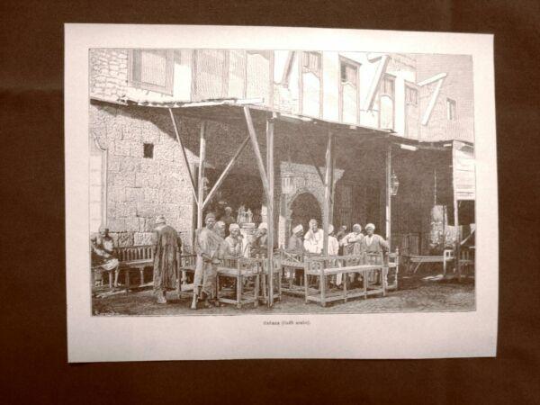 Candido In Arabia Nel 1894 Gahana O Caffè Arabo Moda E Costume Per Prevenire E Curare Le Malattie