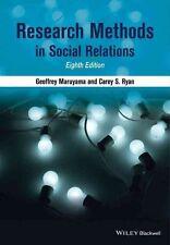 Research Methods in Social Relations, Maruyama, Geoffrey & Ryan, Carey S., Used;