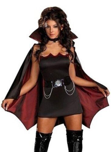 LADIES VAMPIRE COSTUME GENUINE UK SIZES 6-16 HALLOWEEN NEXT DAY DELIVERY