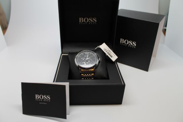 6c50802e6 HUGO BOSS SIGNATURE AUTOMATIC STEEL MEN'S WATCH 151307 7613272239646 ...